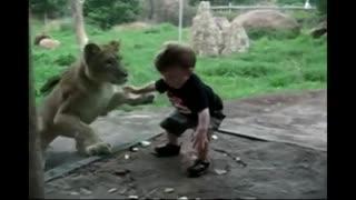 حیوانات باغ وحش و کودکان
