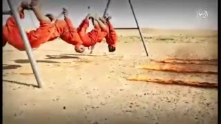 داعش زنده سوزی 4 شیعه در الانبار