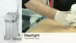 لیزر دایود حذف موهای زاید Depilight Diode laser - دستگاه لیزر دایود