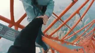 بالا رفتن از شینزن سنتر در ارتفاع 660 متری