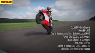 رقابت شتابگیری مک لارن، پورشه و موتور دوکاتی