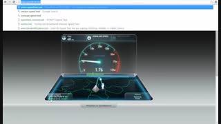 سرعت اینترنت من