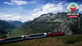 زیبایی های سوئیس با قطار