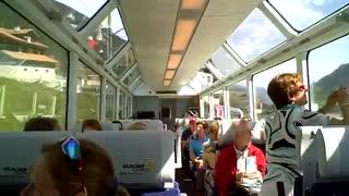 قطاری فوق العاده برای تماشای مناظر سوئیس