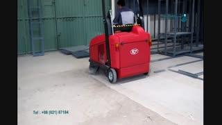 نظافت کارخانه های ذوب آهن|سویپر صنعتی|جاروی خیابانی|فروش دستگاه های نظافتی جدید