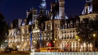 تایم لپس بسیار تماشایی از پاریس
