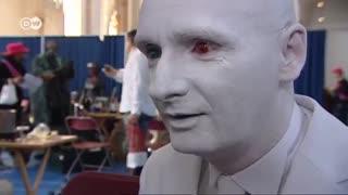 مسابقات جهانی مجسمه های زنده