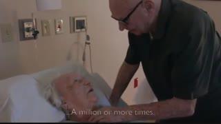 غم انگیز ترین ترانه عاشقانه دنیا بر بالین همسر در حال موت