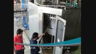 دستگاه شوینده فشارقوی آب داغ جت واش پرفشار صنعتی نظافت صنعتی شرکت ابراهیم