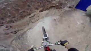 دوچرخه سواری خطرناک و هیجان انگیز