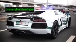 پلیس کامارو، فراری و لامبورگینی در دبی!