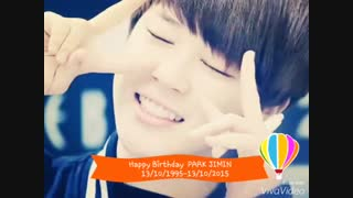 Happy Birthday Park Jimin