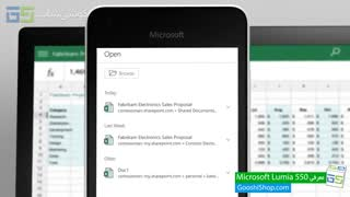 ویدیو رسمی معرفی اسمارت فون Microsoft Lumia 550