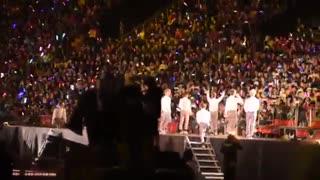 exo lucky concert