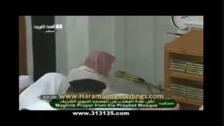 آزاد شدن باد معده در نماز توسط امام جماعت وهابی