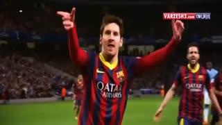 10 گل برتر تیکی تاکای لئو مسی