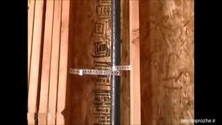 فیلم مراحل ساخت ساختمان ۲۶ - لوله کشی-عمران پروژه