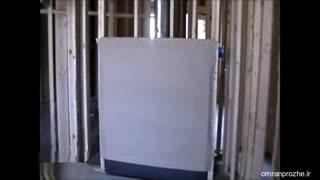 فیلم مراحل ساخت ساختمان ۲۹ - نصب آتش نشانی-عمران پروژه