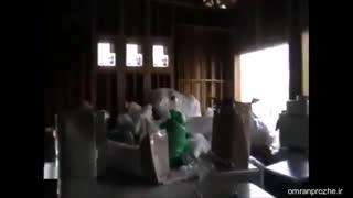 فیلم مراحل ساخت ساختمان ۳۰ - نصب کانال-عمران پروژه