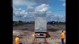 راننده حرفه ای و حرکت نمایشی