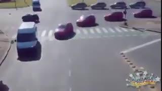 رانندگی جالب