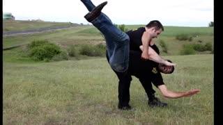آیکیدوی واقعی ـ از سری فیلم های آموزشی رزمی و دفاع شخصی کوثرپرداز