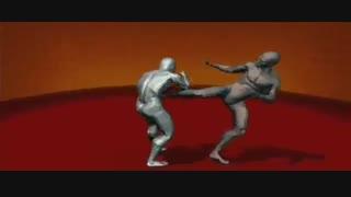 انیمیشن ساواته 01 - کیک بوکسینگ فرانسوی - سری آلبوم های آموزش هنرهای رزمی و دفاع شخصی کوثرپرداز