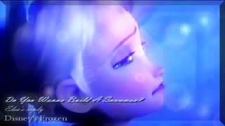 آهنگی حذف شده از فروزن...بسیار زیبا و غمناک