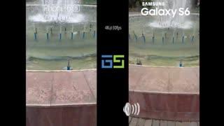 مقایسه کیفیت فیلمبرداری 4K در Galaxy S6 و iPhone 6s