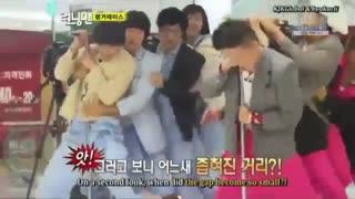 Running Man Ep 1-Hwang Jung-eum, Lee Hyo-ri
