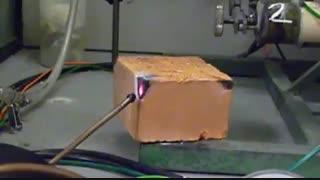031- واکنش گاز فلوئور با آجر