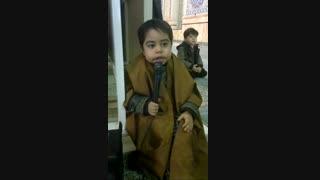 مداح خردسال پویا (امیر علی) افشاری مسجد مقدس جمکران