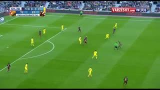 بارسلونا    3  -  0    ویارئال