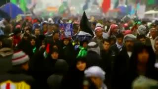 کلیپ عربی برای پیاده روی اربعین