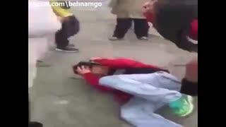 عاقبت مرد متجاوز دختربچه در خیابان...!