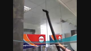 دستگاه بخارشوی, بخارشوی صنعتی, نظافت صنعتی شیشه