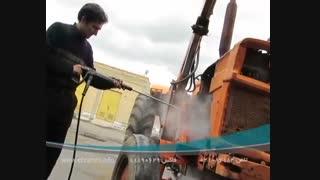 دستگاه شستشوی فشارقوی- شوینده پر فشار صنعتی- واترجت بنزینی