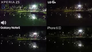 مقایسه فیلمبرداری Note5، iPhone 6s، G4 و Z5