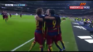 بارسلونا 4 رئال مادرید 0 - ال کلاسیکو ( خلاصه بازی )