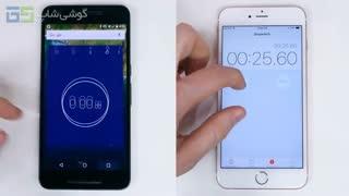 مقایسه سرعت و بنچمارک iPhone 6s Plus و Nexus 6P