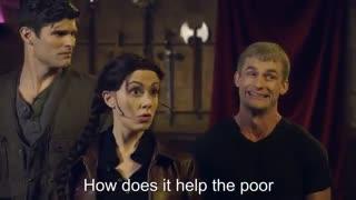 اهنگ رپ کتنیس در برابر هرمیون گرنجر