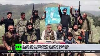 حمله ترکیه به جنگنده روسی