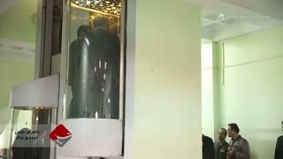 ماجرای حبس شدن احمدی نژاد در آسانسور