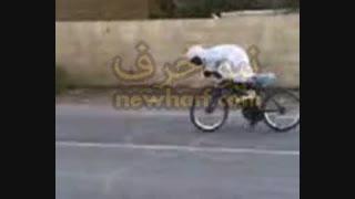 ویدیوی جالب از چرخ سوار عرب