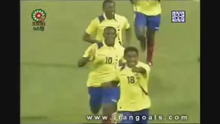 Iran vs Ecuador   2008