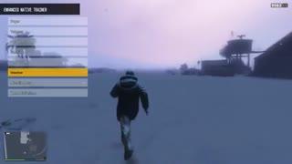 دانلود مد برفی شدن محیط در بخش تک نفره بازی GTA V