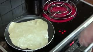 طرز تهیه نان لواش خانگی