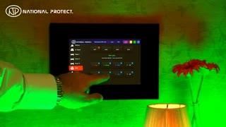 کنترل روشنایی خانه هوشمند اندروید