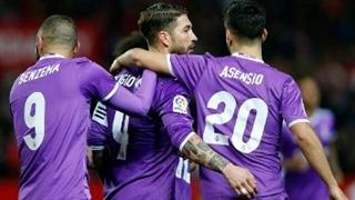 خلاصه بازی:  سویا  3 - 3  رئال مادرید