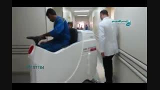 اسکرابر آنتی باکتریال / شستشو و از بین باکتری ها در بیمارستان